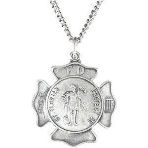 Saint Florian Necklace 1